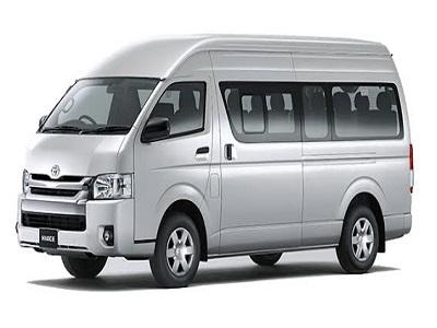 Sewa Mobil di Bali | Minibus Toyota Hiace