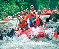 Paket Tour di Bali | Arung Jeram Sungai Telaga