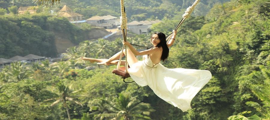 Paket Bali Petualangan Tour | Paket Wisata Bali Swing di Bali