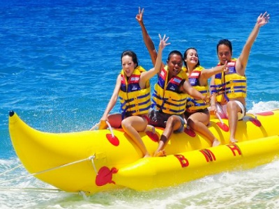 Paket Wisata Dua Petualangan Water Sports dan Elephant Ride | Water Sports