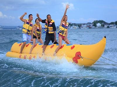 Wisata Kombinasi Water Sports dan Tanah Lot | Water Sports